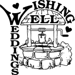 Wishing Well Black Logo on Clear