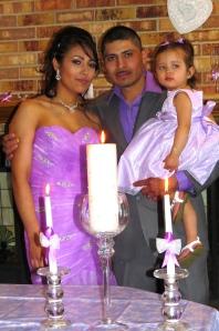 M and I wedding