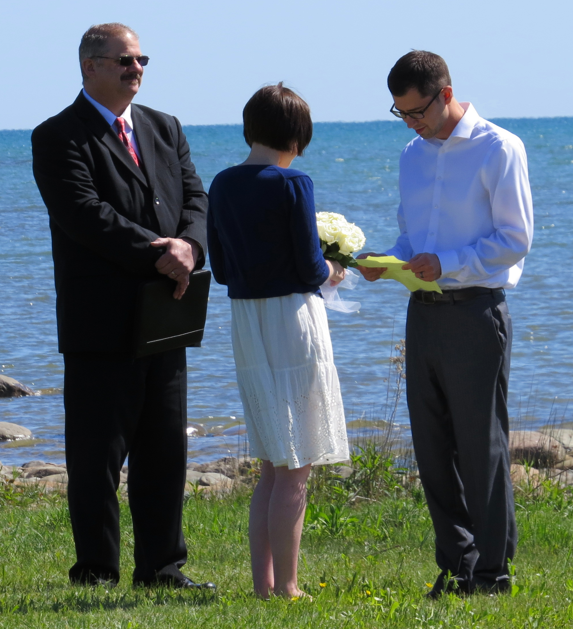 Beach Wedding Ceremony Michigan: Michigan Wedding Vow Renewal