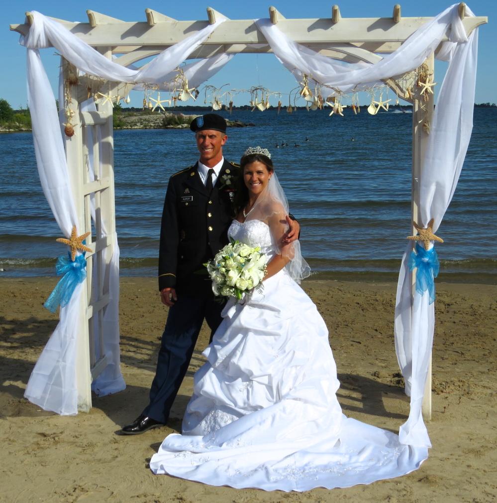 Wedding At The Beach: Northern Michigan Wedding